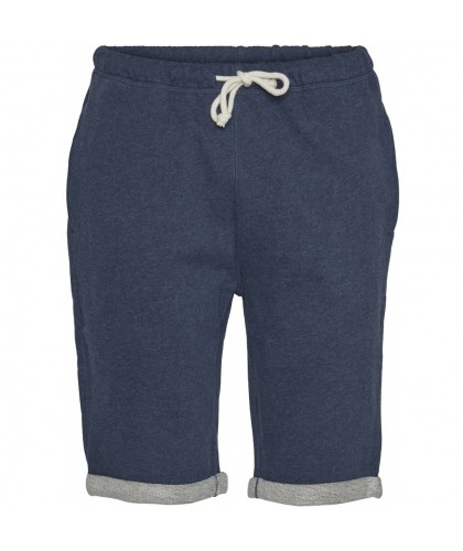 Short de jogging bio bleu foncé KNOWLEDGE COTTON APPAREL