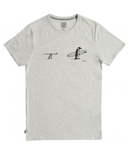 T-shirt chiné Father & Son STEPART