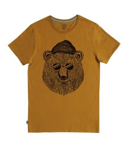 T-shirt camel Sunglasses Bear STEPART