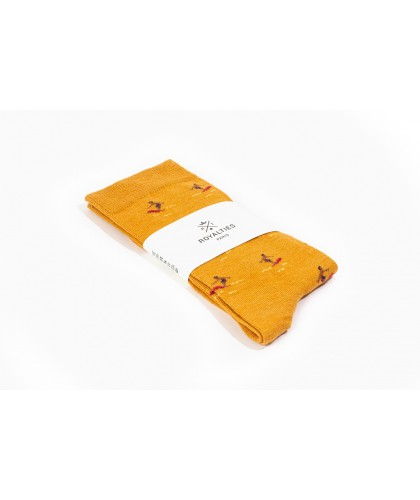 Chaussettes Kelly Ocre...