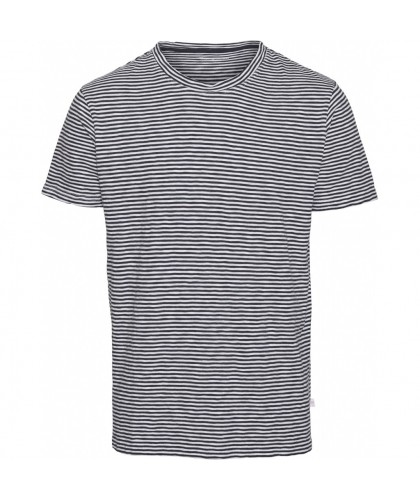 Navy Organic Striped Tee KNOWLEDGE COTTON APPAREL
