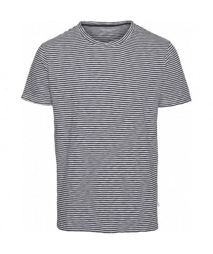 T-shirt bio rayé marine...