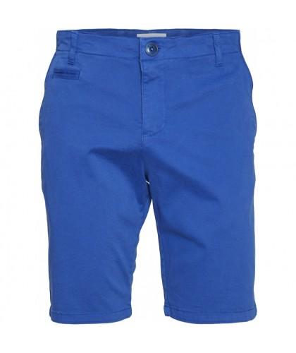 Bermuda en coton bio bleu...