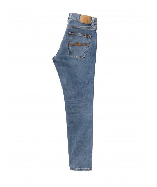 Jean bio Lean Dean Lost Orange NUDIE JEANS