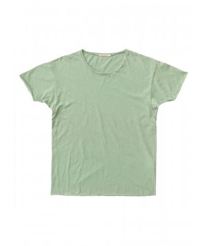 T-shirt bio Roger Slub vert clair NUDIE JEANS