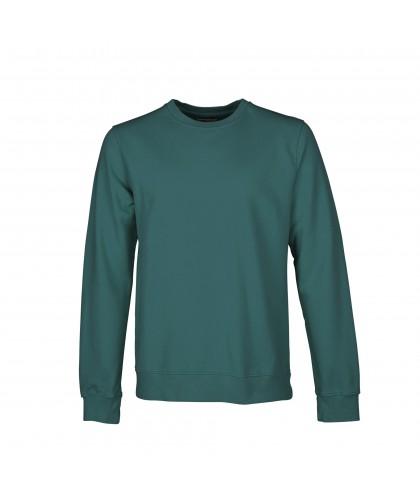 Sweatshirt Coton Bio Ocean Green COLORFUL STANDARD
