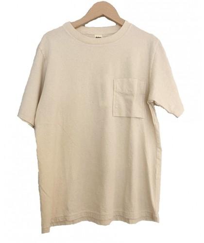 T-shirt à poche écru JACKMAN