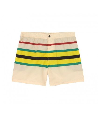 Off-white Striped Recycled...