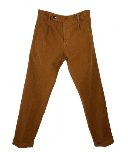 Paul Diagonal Corduryoy Biscuit Trousers ABCL