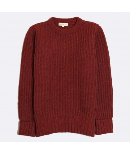 Pull Côtelé Tanner Rib Bordeaux FAR AFIELD