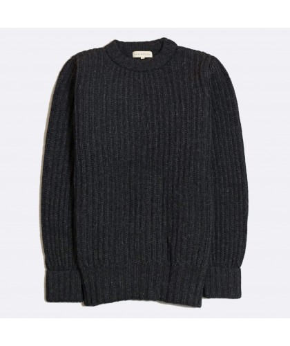 Pull Côtelé Tanner Rib Anthracite FAR AFIELD