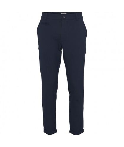 Pantalon recyclé Joe marine KNOWLEDGE COTTON APPAREL