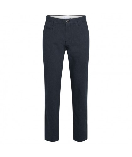 Pantalon Chuck en flanelle gris-bleu KNOWLEDGE COTTON APPAREL