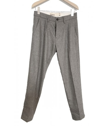 Pantalon New Barcellona Flanelle Grise HAIKURE
