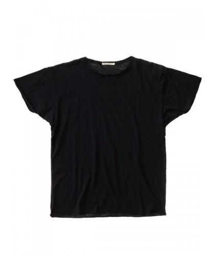 T-shirt bio Roger Slub Noir NUDIE JEANS