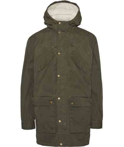 Parka Nordic Legacy vert sapin KNOWLEDGE COTTON APPAREL