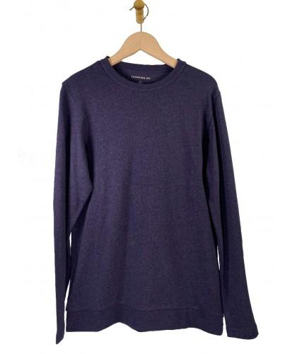 T-shirt ML chanvre et coton bio marine THINKING MU