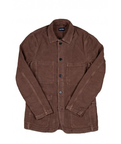 Brown Moleskin Brewer Jacket COF STUDIO