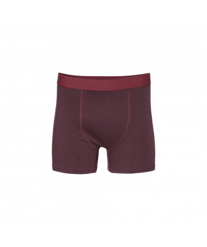 Boxer Coton Bio Oxblood Red...