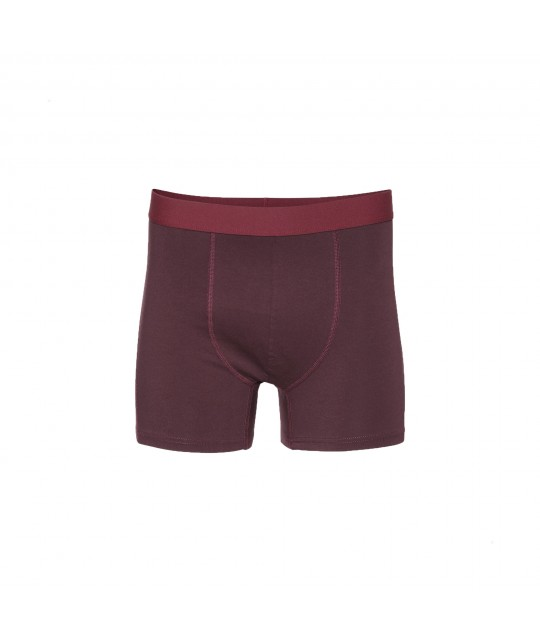 Boxer Coton Bio Oxblood Red COLORFUL STANDARD