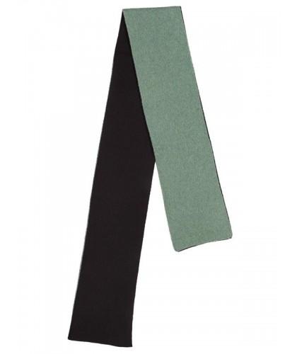 Echarpe double face vert et noir JO GORDON