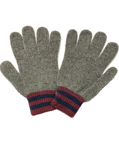 Gants en laine Gris Love Gloves HOWLIN'