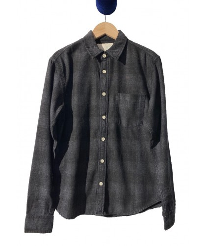 Chemise Black Plaid RECYCLED BY DAN