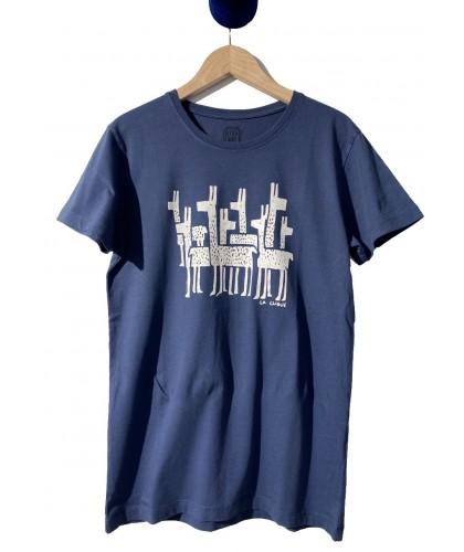 T-shirt bleu La Clique STEPART
