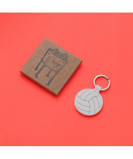 Porte-clés en cuir Volleyball HERR PONG