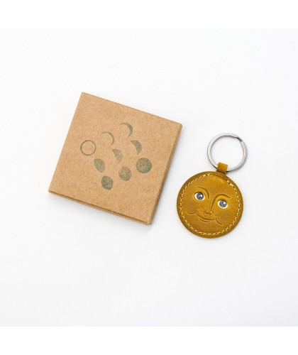 Porte-clés en cuir Full Moon HERR PONG