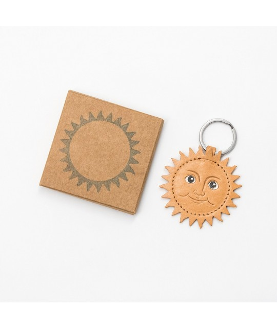 Porte-clés en cuir Sun HERR PONG