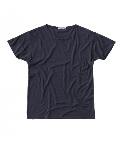 T-shirt bio Roger Slub Navy NUDIE JEANS