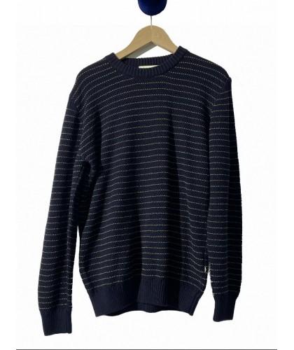 Miki Striped Sweater...