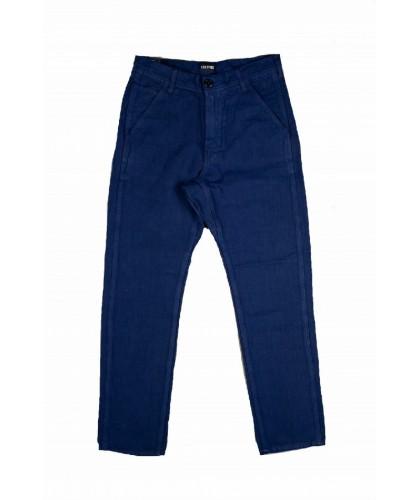 Cotton Linen French Blue...