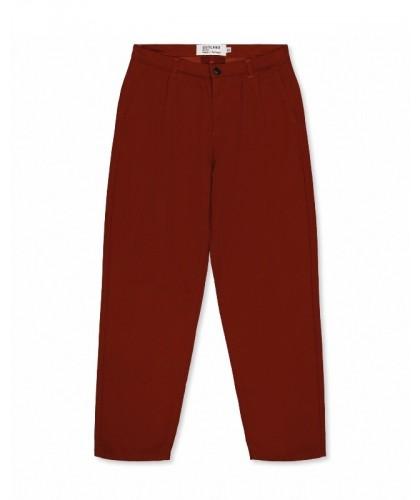 Rust Pleats Pants OUTLAND