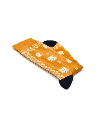 Chaussettes Geronimo Ocre...