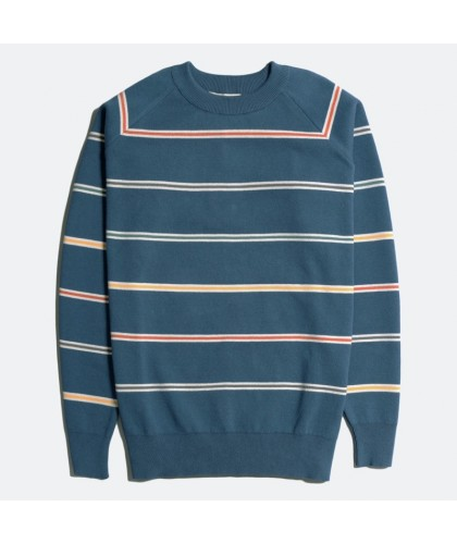 Organic Cotton Striped Blue...