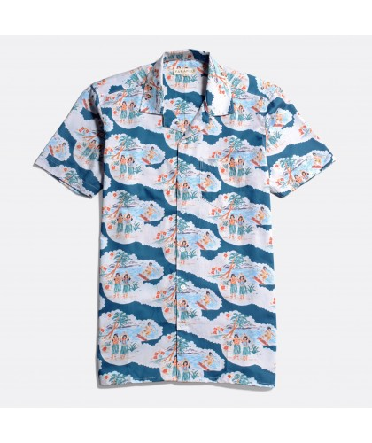 Chemise Hawaïenne Stachio...