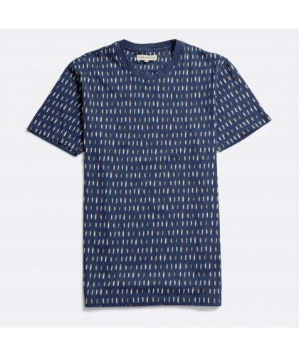 T-shirt bleu motif Surf FAR...