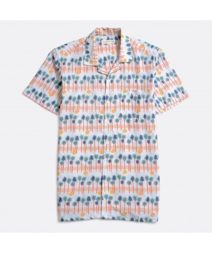 Chemise Selleck Palmiers...