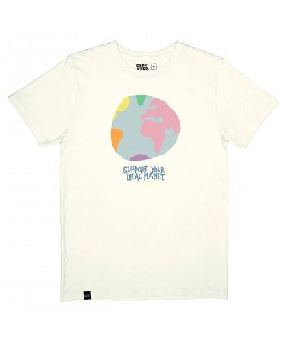 T-shirt bio blanc cassé...