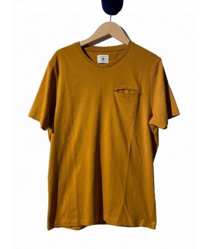 T-shirt en coton bio camel...