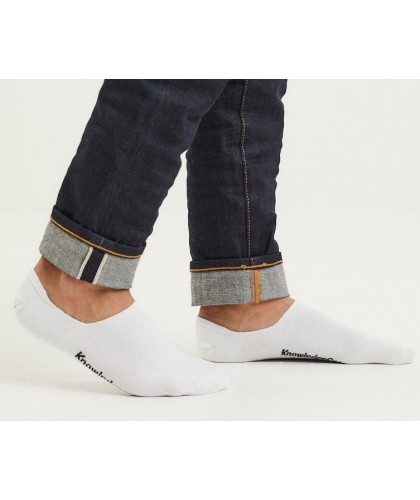White Invisible Socks 5...