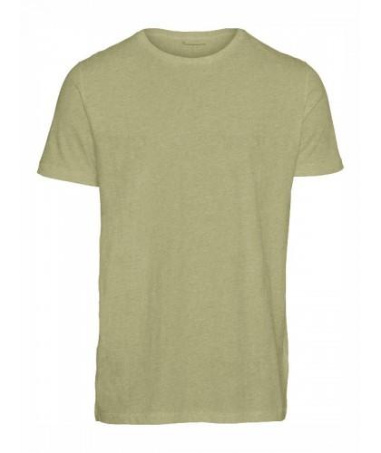 T-shirt bio vert chiné...