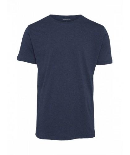 T-shirt bio marine chiné...