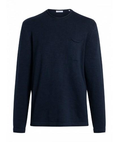 Navy Organic Cotton Sweater...
