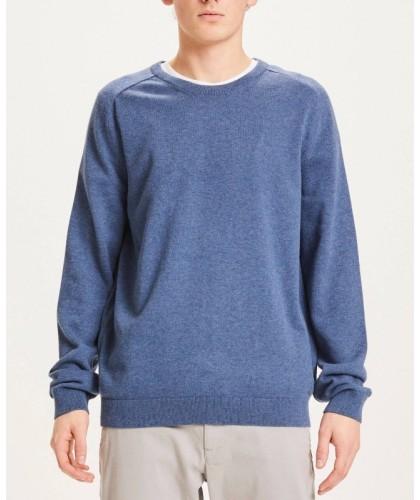Blue Organic Cotton Sweater...
