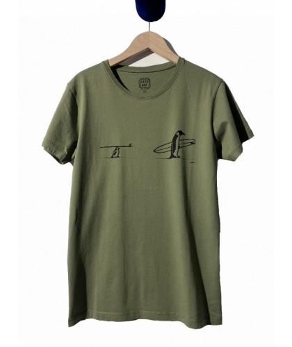 T-shirt vert Father & Son...