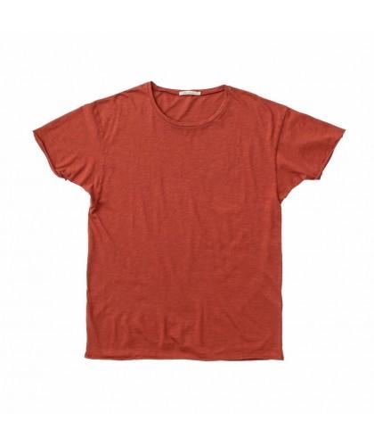 T-shirt bio Roger Poppy Red...