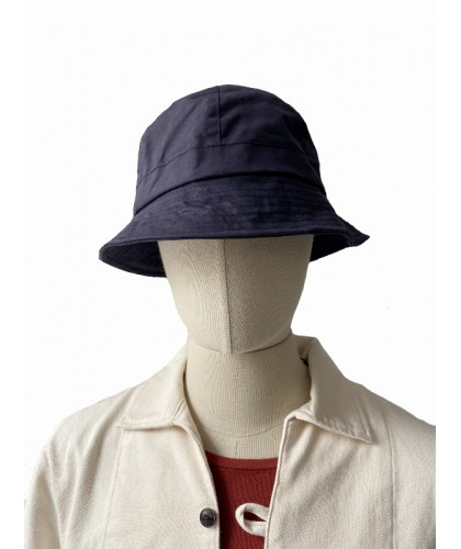 Navy Waxed Bucket Hat OUTLAND